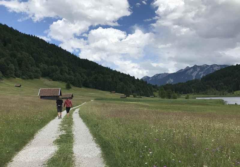 Rund um den Geroldsee wandern