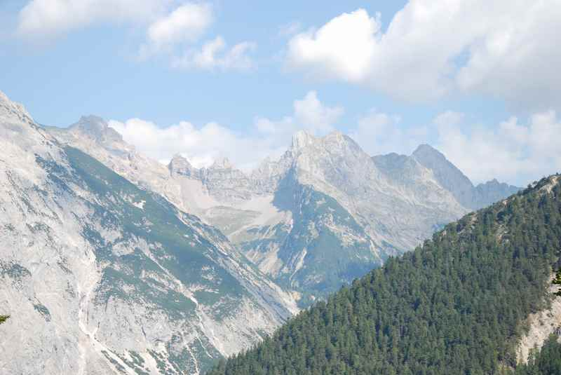 Das Gleirschtal bei Scharnitz im Karwendel