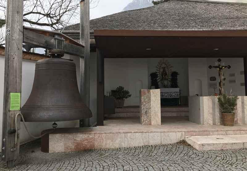 Die Herz Mariä Glocke in Mariastein