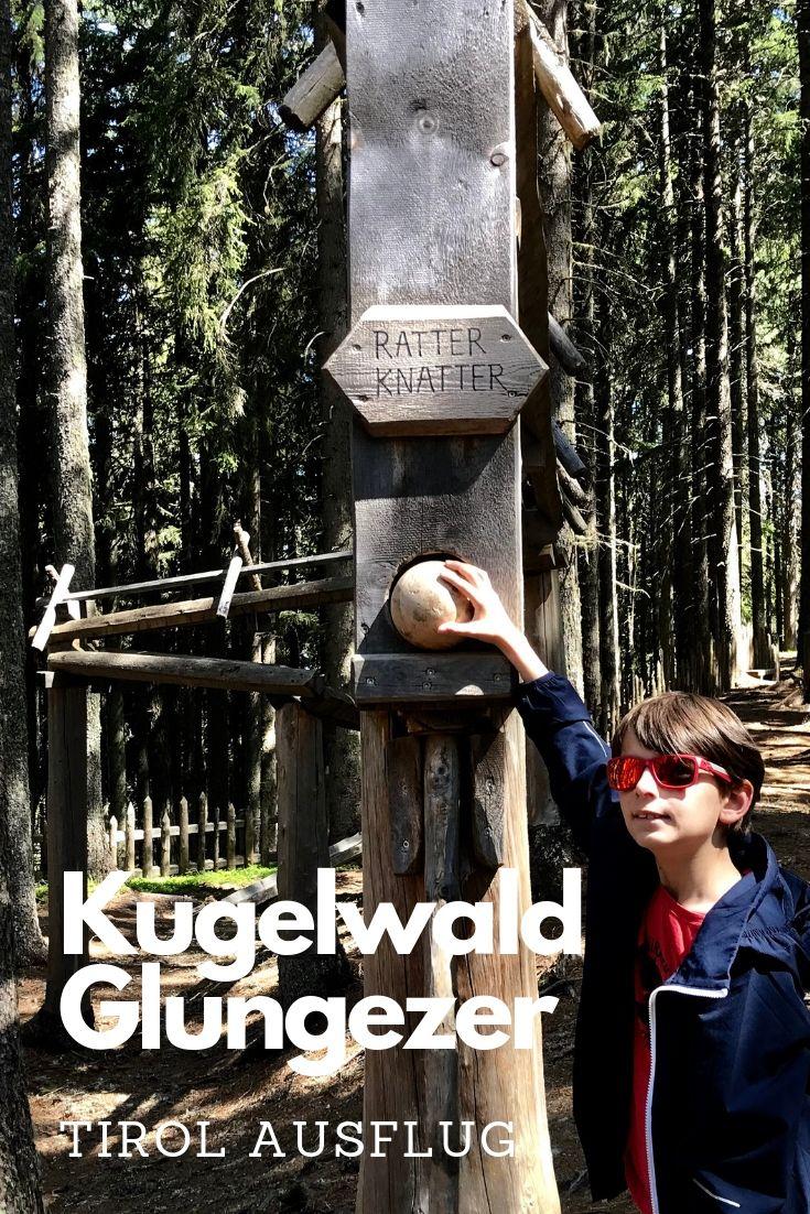Ein Traum in den Tuxer Alpen für Kinder - der Kugelwald Spielplatz am Glungezer