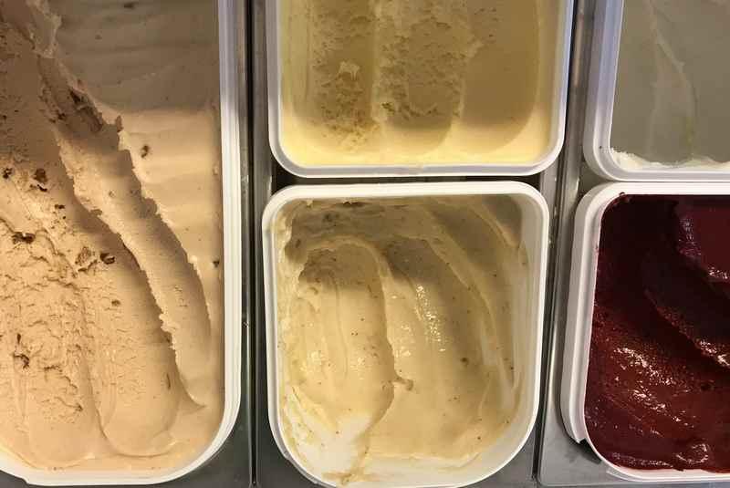 Goas-Alm Eis - Das Ziegeneis ist beliebt bei Kindern und Erwachsenen
