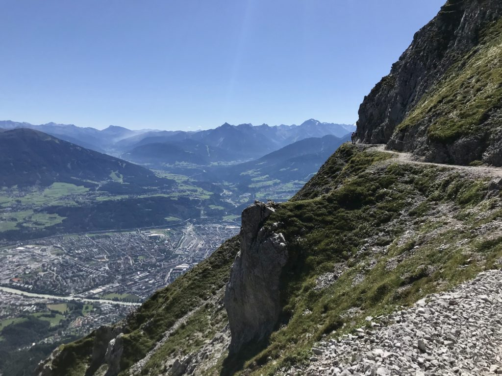 Goetheweg Innsbruck - die schönste Höhenwanderung im Karwendel