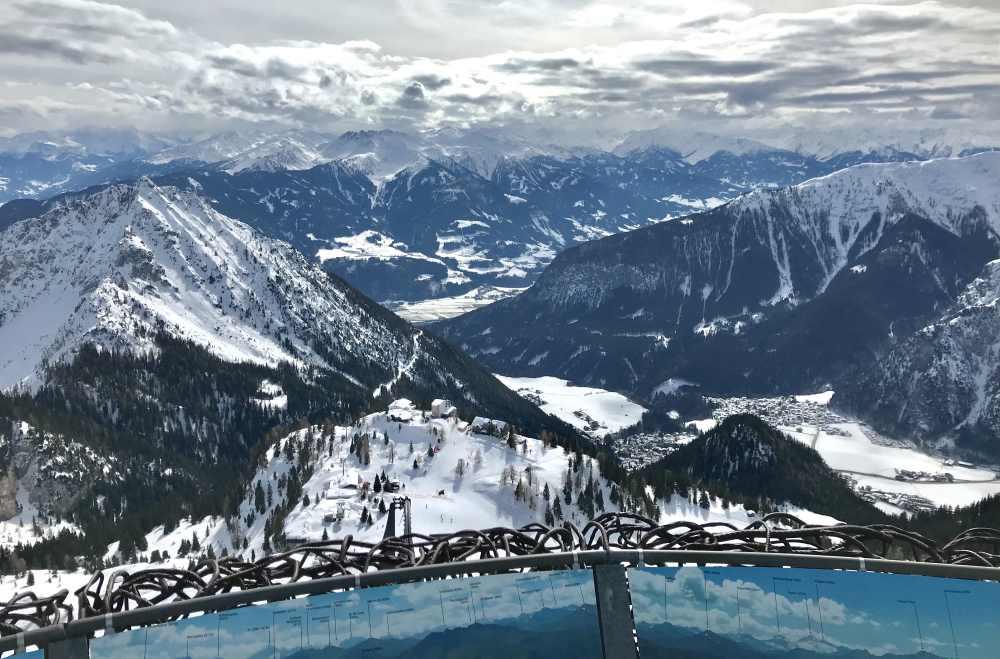 Dein Ausblick auf der Gschöllkopf Skitour