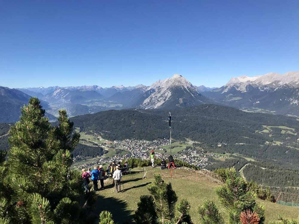 Das ist der Blick bei der Bergstation der Härmelekopfbahn