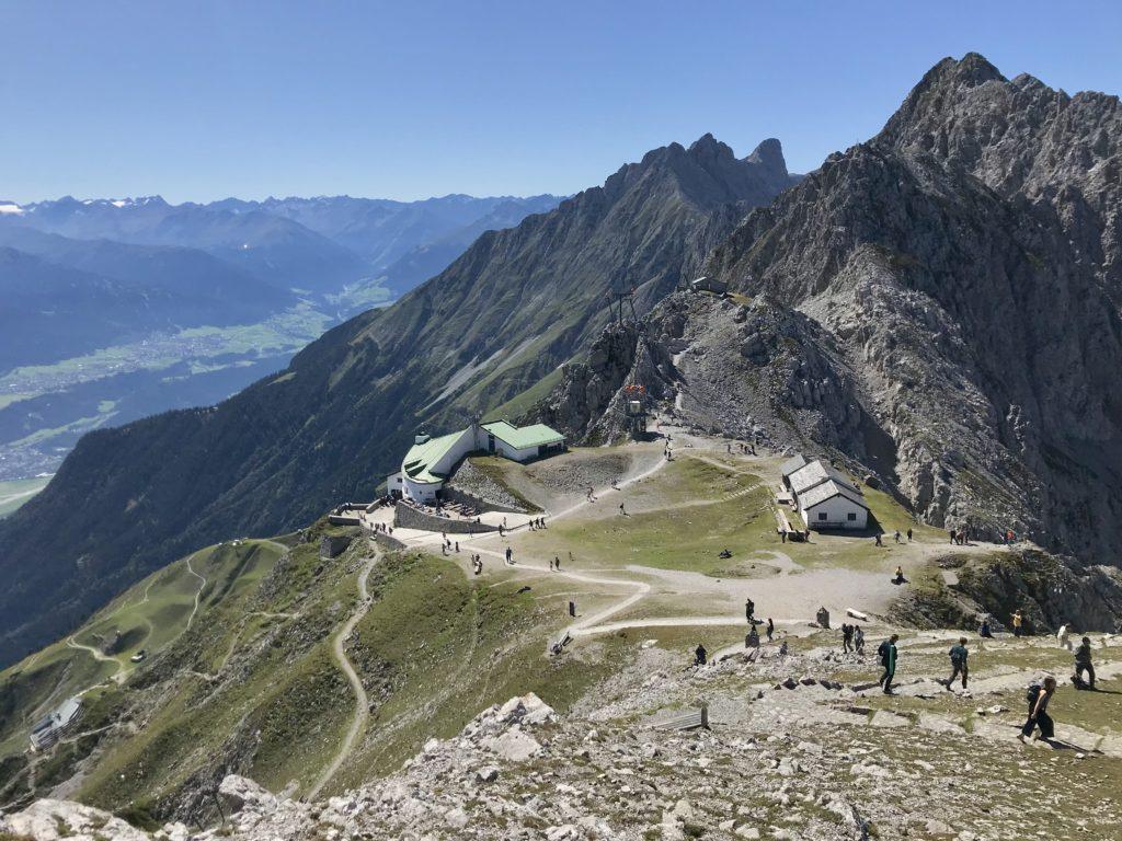 Auf dem Hafelekar im Karwendel - das Top of Innsbruck