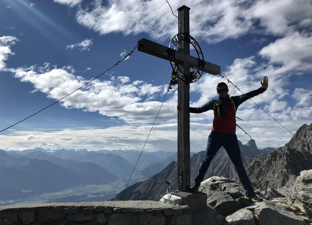 ... wer will bis zum Hafelekar auf der Nordkette im Karwendel