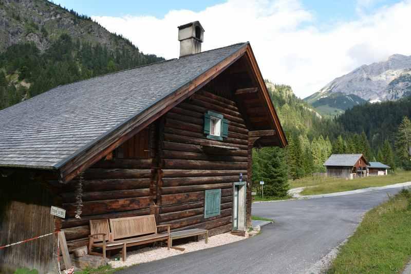 Die Hagelhütten im Rißtal - zwischen Hinterriß und Ahornboden