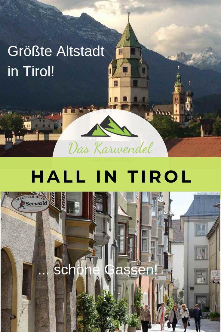 Hall in Tirol Sehenswürdigkeiten merken - mit diesem Pin auf Pinterest