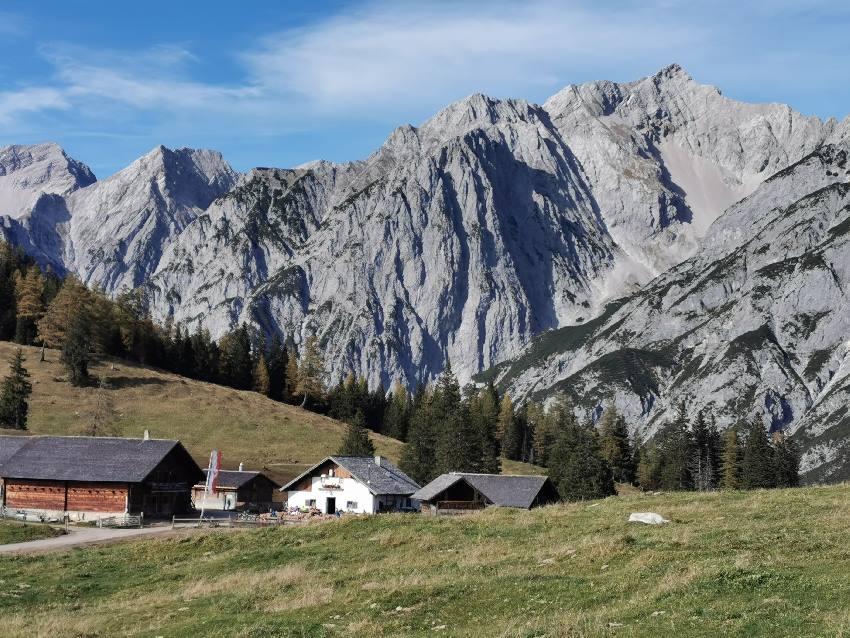 Auch das ist Hall in Tirol: Die Wanderungen oberhalb der Stadt im Karwendel