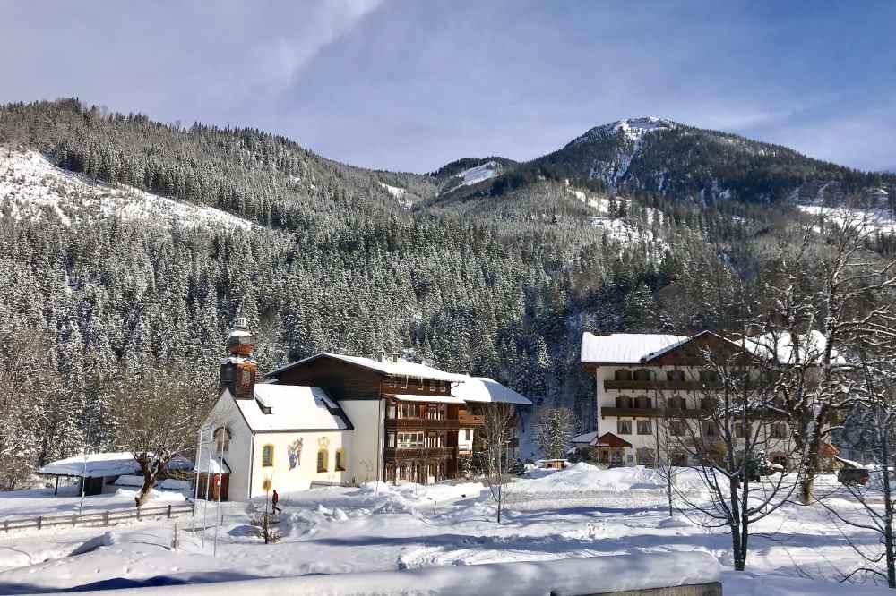 Hier gibt es wirklich noch Ruhe und Entspannung: Hinterriss im Winter