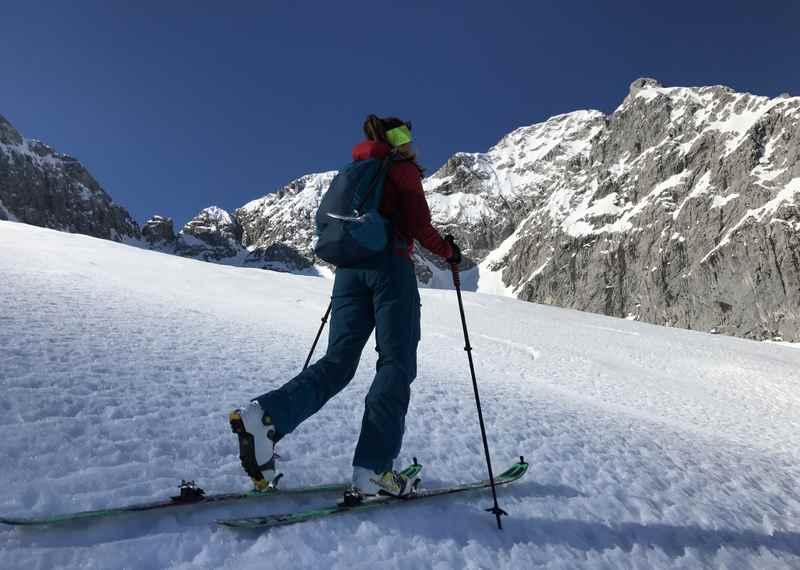Skitouren rund um den Ahornboden im Karwendel