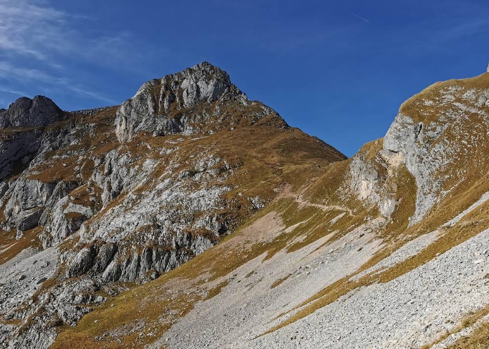 Der Hochiss im Rofan - höchster Berg im Rofangebirge