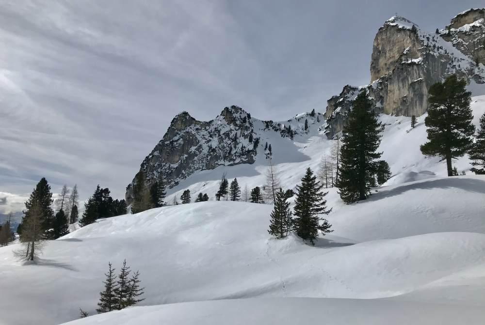 Skitour im Rofan: Am Dalfazer Roßkopf vorbei zum Hochiss