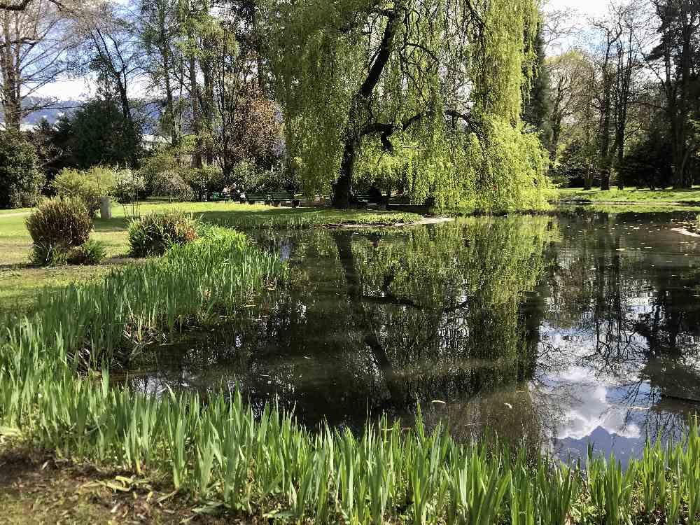 Hofgarten Öffnungszeiten - im Sommer und im Winter geöffnet!