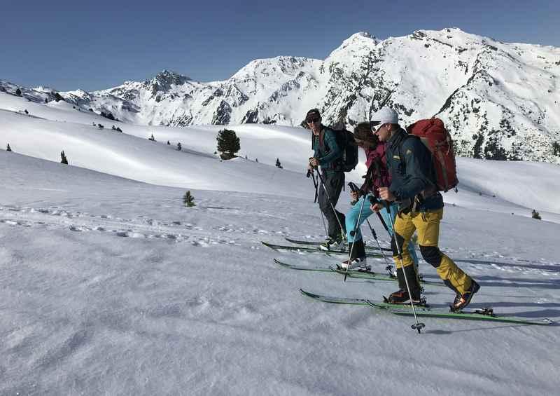 Der Aufstieg auf den Hohen Kopf in den Tuxer Alpen