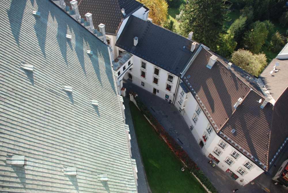 Tirol Sehenswürdigkeiten - die Altstadt Schwaz in Tirol