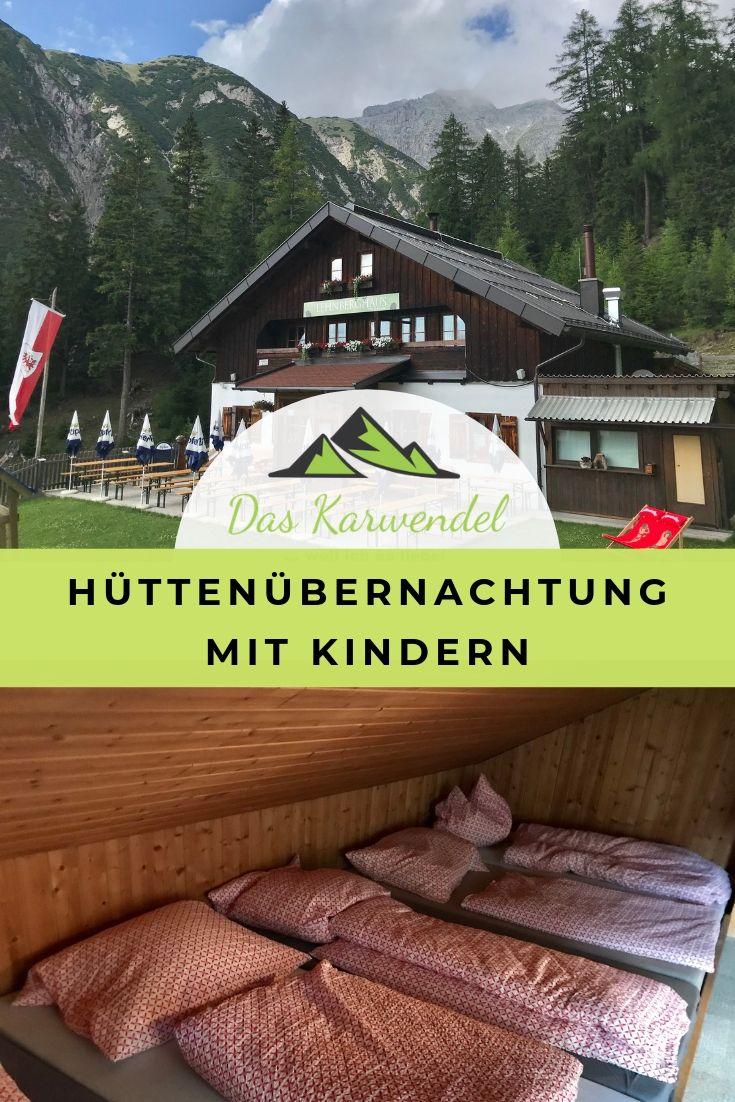 Hüttenwanderungen: Leichte Hüttentour mit Kindern samt Hüttenübernachtung am Berg