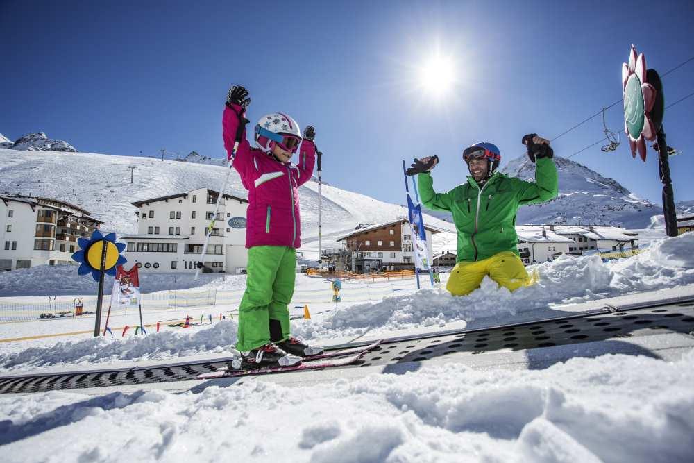 Von Innsbruck ist es nicht weit in das höchstgelegene Skigebiet Kühtai, Foto: Innsbruck Tourismus / Daniel Zangerl