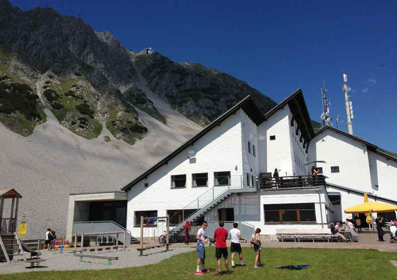 Das Ziel der MTB Tour ab Altstadt Innsbruck: Die Seegrube im Karwendel
