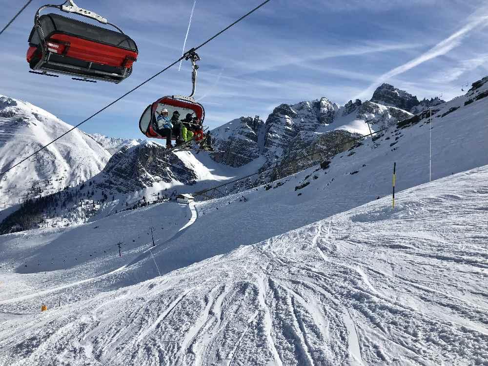 In der Axamer Lizum skifahren - für mich das beste Familienskigebiet Innsbruck