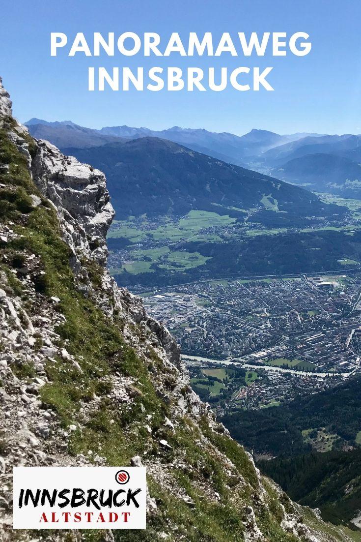 Wandern Karwendel auf dem Panoramaweg de Luxe - der Goetheweg Innsbruck