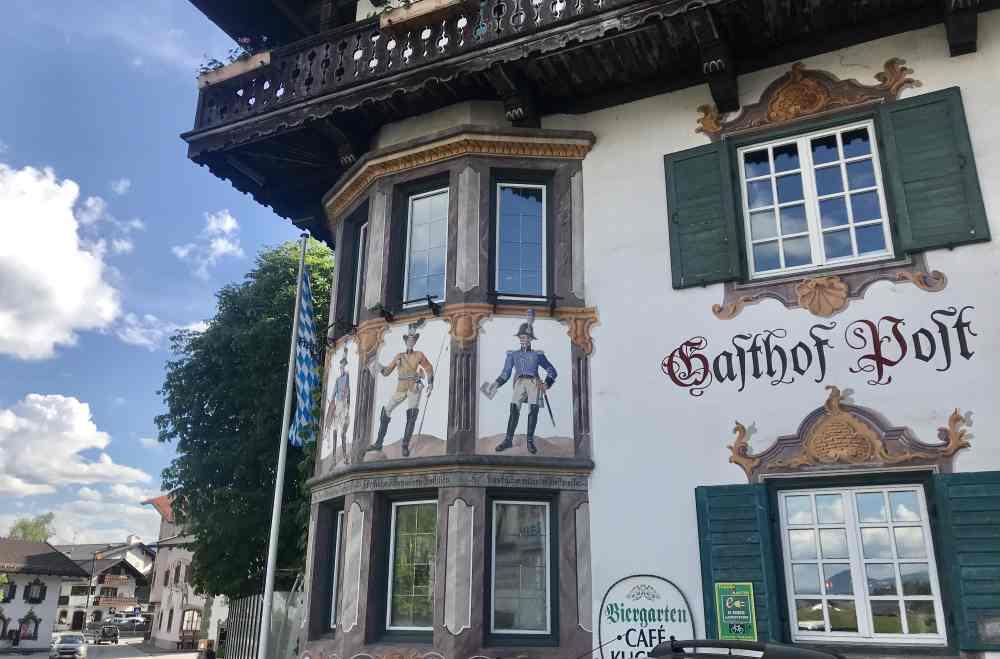 Auch das ist Isartal: Der Gasthof zur Post in Wallgau