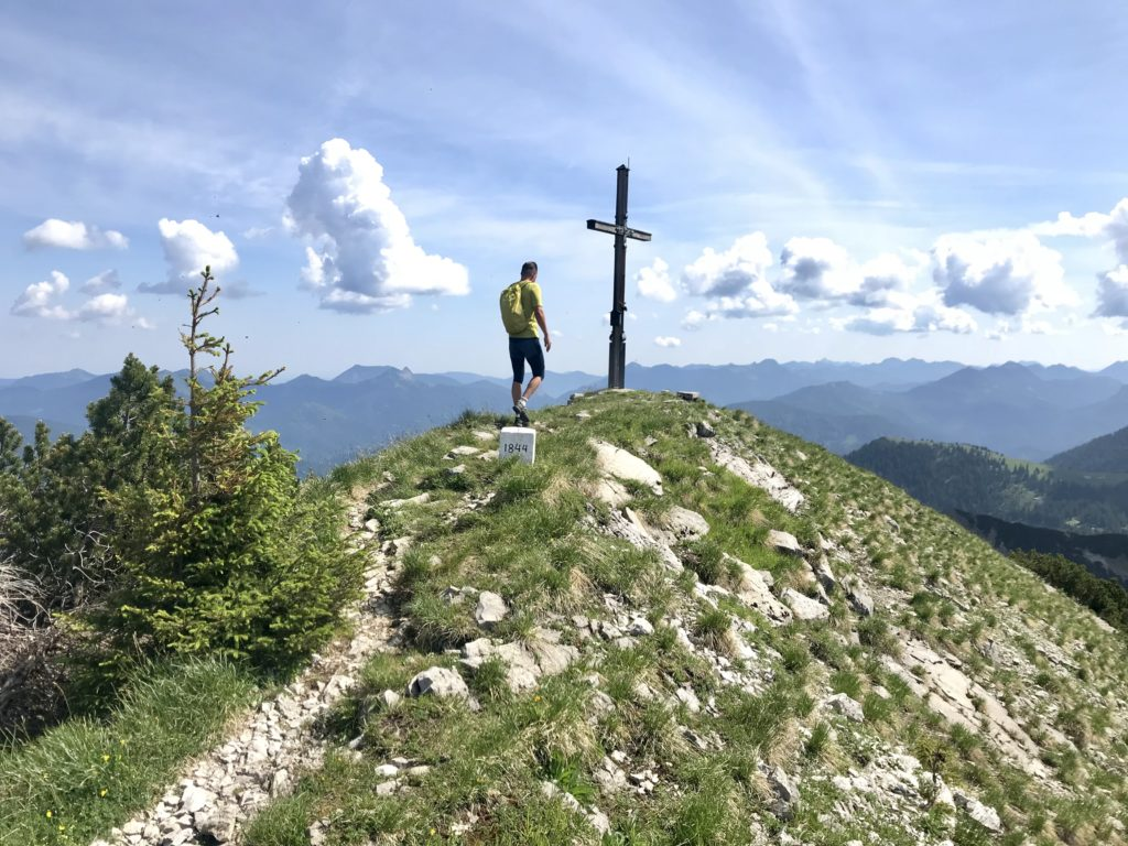 Am Demeljoch zwischen Bayern und Tirol wandern