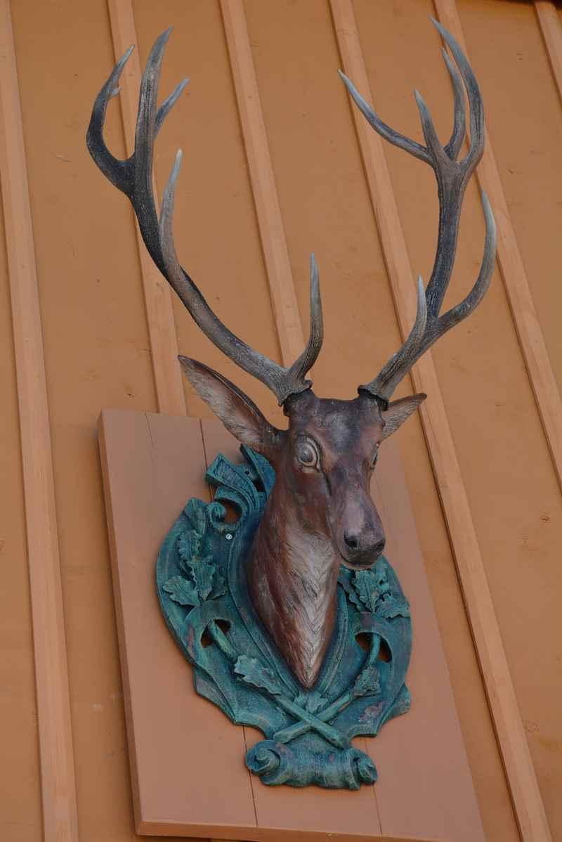 Die Jagd spielte in Vorderriß eine große Rolle - neben der Holzwirtschaft