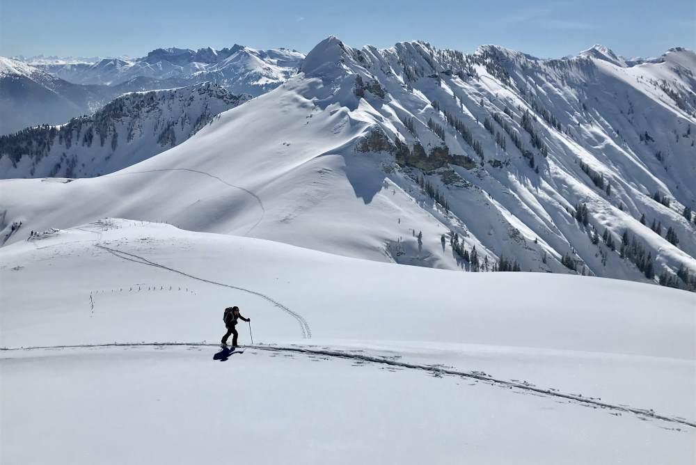 Die Juifen Skitour im Karwendel
