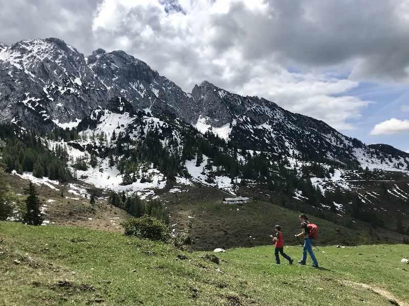 Kaisergebirge Tirol - fast 300 Quadratkilometer Berge zwischen Kufstein, Ellmau, St. Johann und Kössen