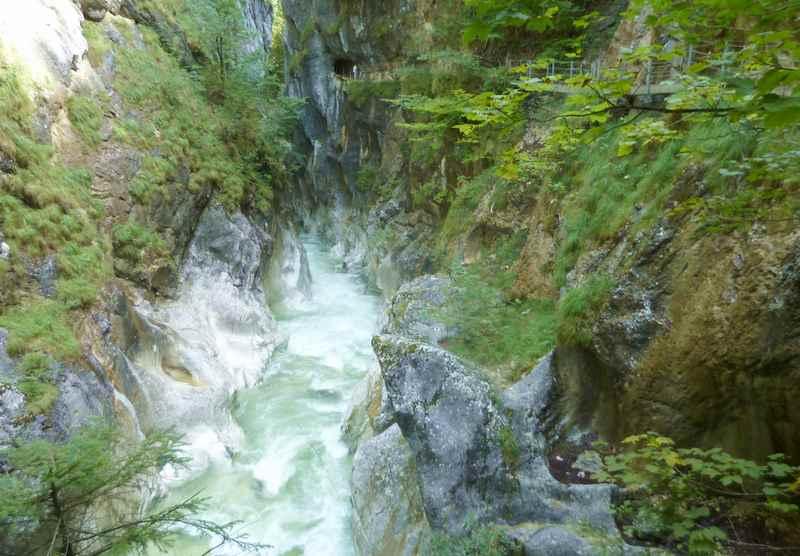 Die historische Kaiserklamm Kramsach, in den Brandenberger Alpen