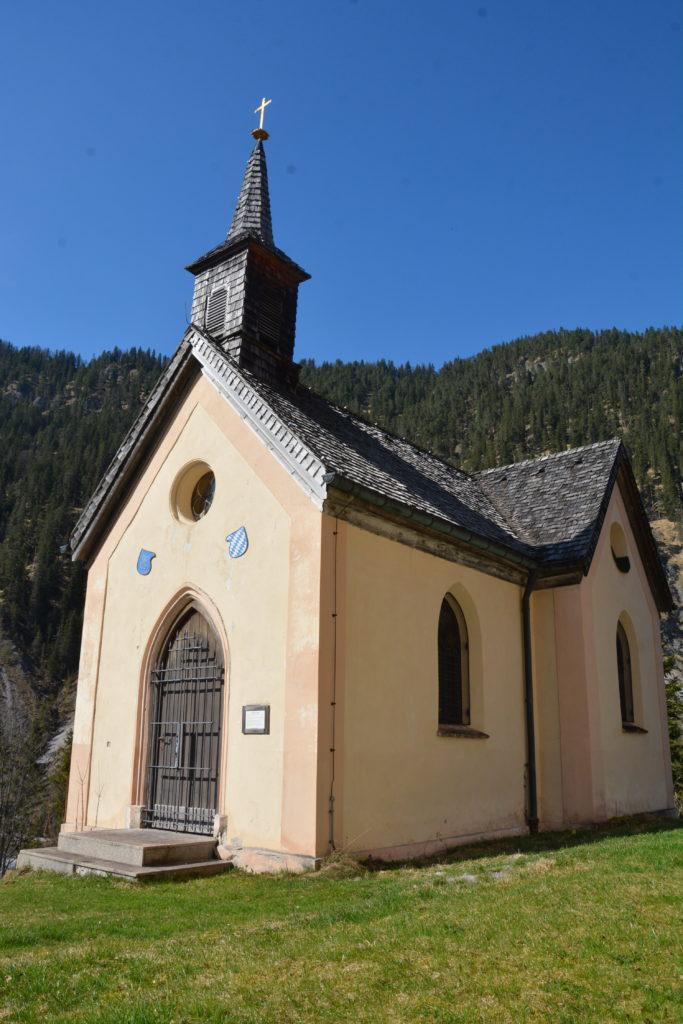 Kapelle Vorderriss - 1866 errichtet, im Auftrag von König Ludwig II