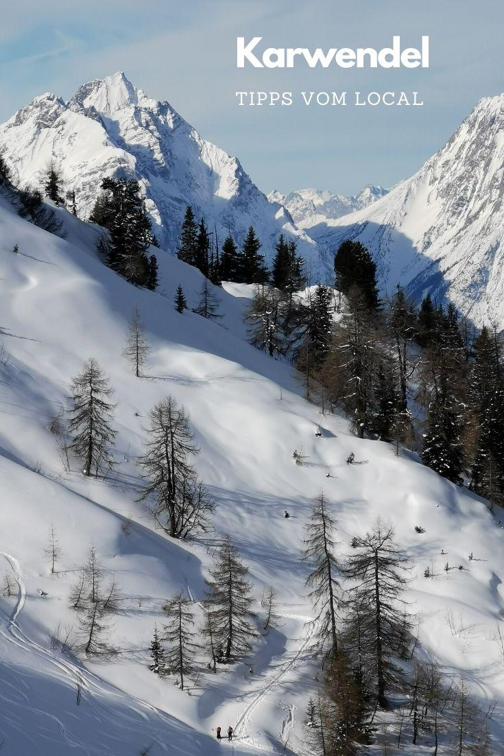 So schön ist der Winter im Karwendel - merken für den nächsten Urlaub!