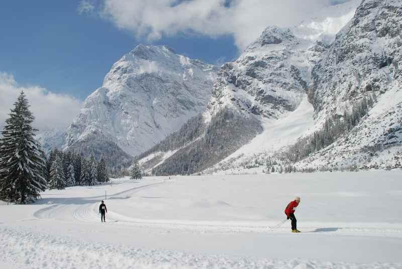 Im Karwendel Langlaufen: Die schönen Loipen am Achensee in Pertisau