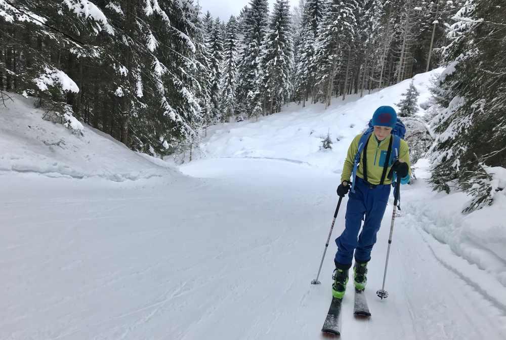 Skitouren auf der Piste - Naturgenuß mit kalkulierbarem Risiko