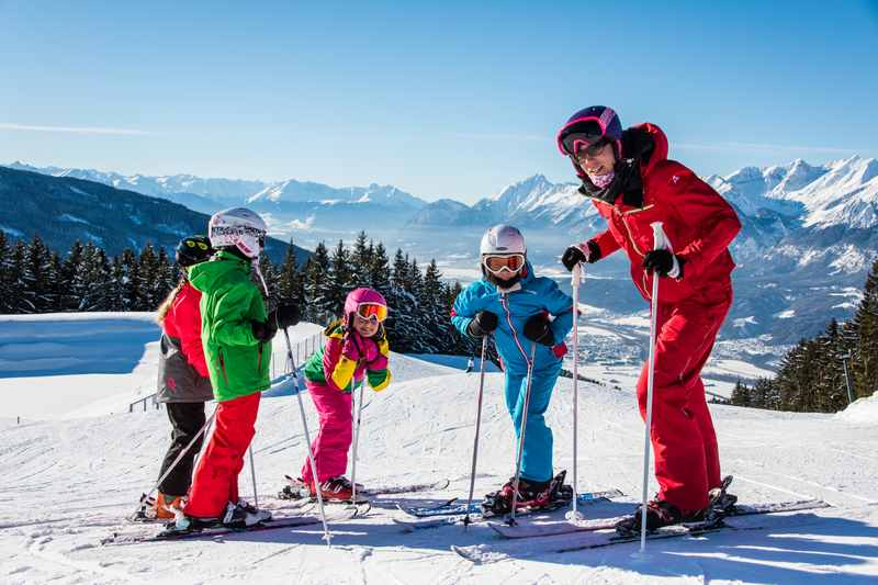 Skifahren mit Kindern, im Familienskigebiet Weerberg in Tirol