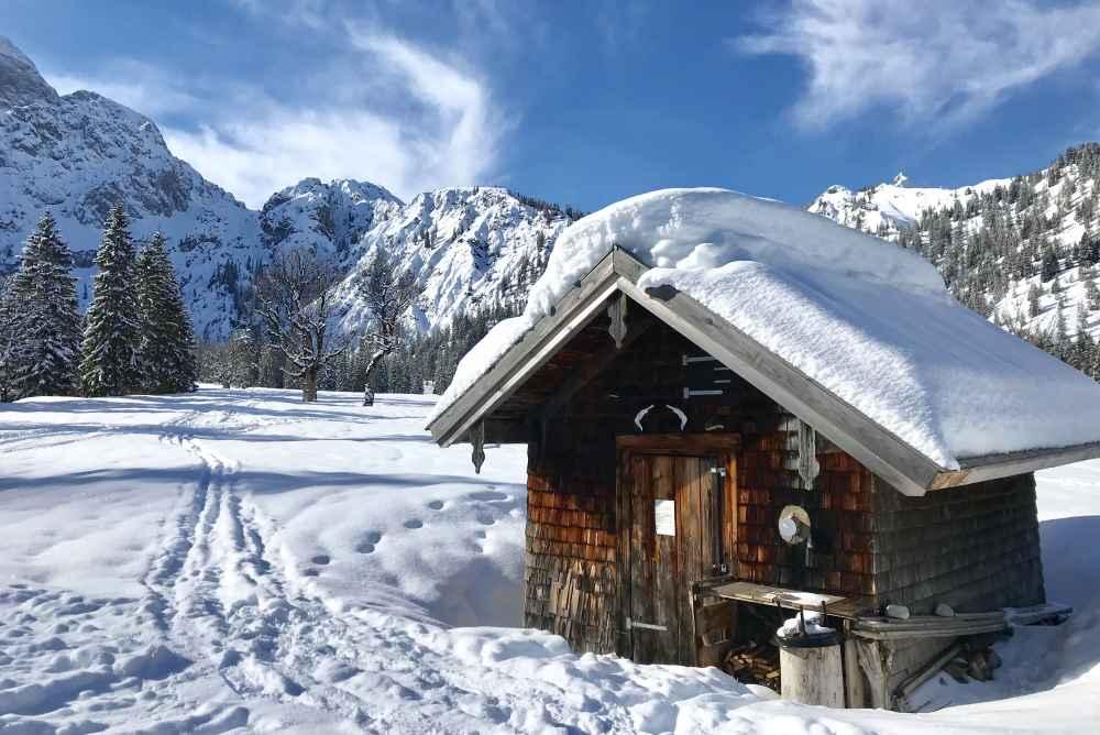 Mich freuen auch die schönen Karwendel Skitouren im Februar