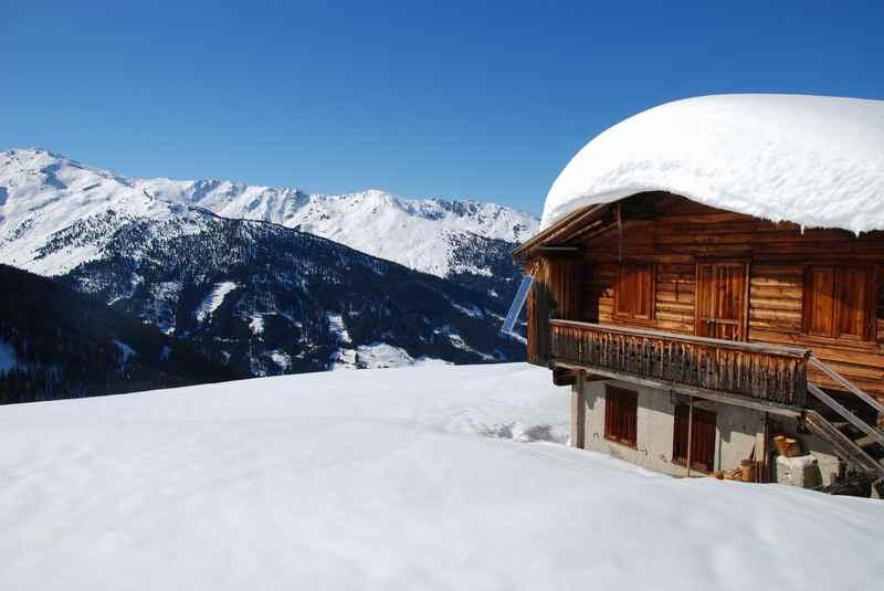 So mag ich den Karwendel Winter - tiefverschneit. Ideal zum Winterwandern!