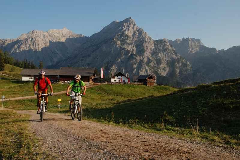 Wunderbare Touren zum Mountainbiken rund um Pill in Österreich