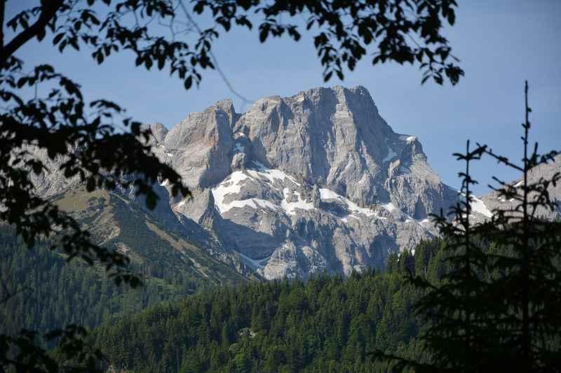 Schafreuter - Tolle Aussicht im unteren Bereich der Schafreuter Wanderung im Karwendel