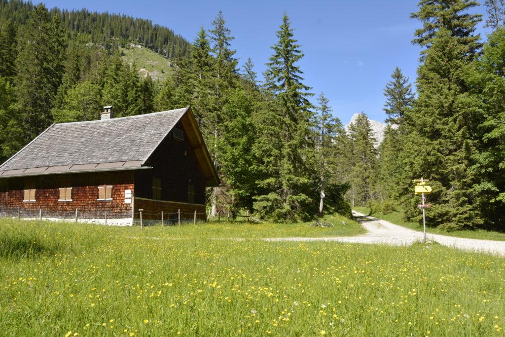 Am Ziel im Karwendel