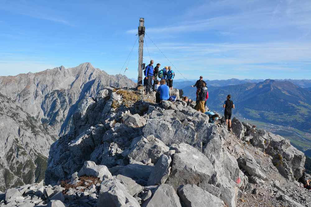 Klettersteig Innsbruck - viel Auswahl, tolle Ziele!