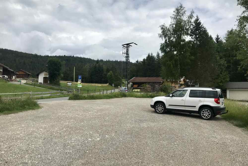 Am Kranzberg parken und die tolle Natur entdecken