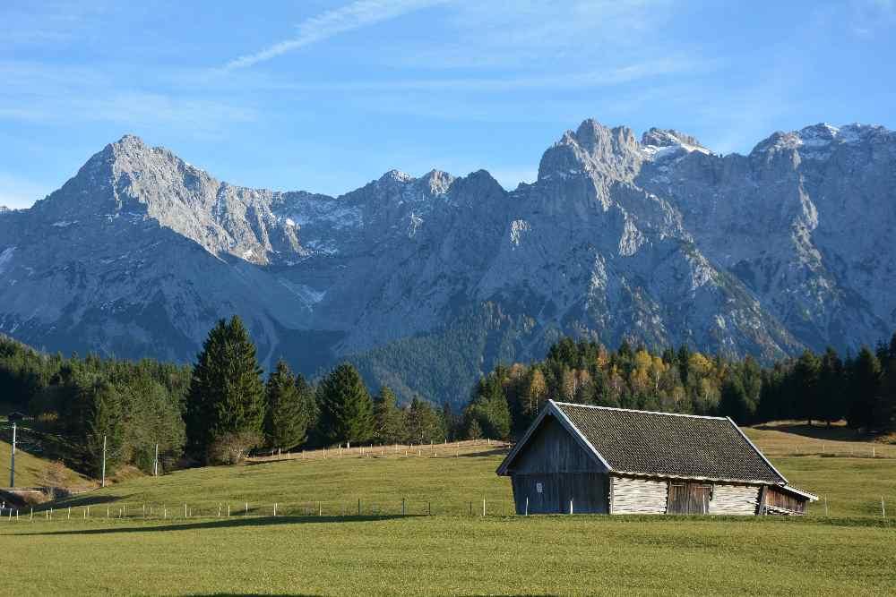Die schönsten Krün Sehenswürdigkeiten zwischen Karwendel, Wetterstein- und Estergebirge