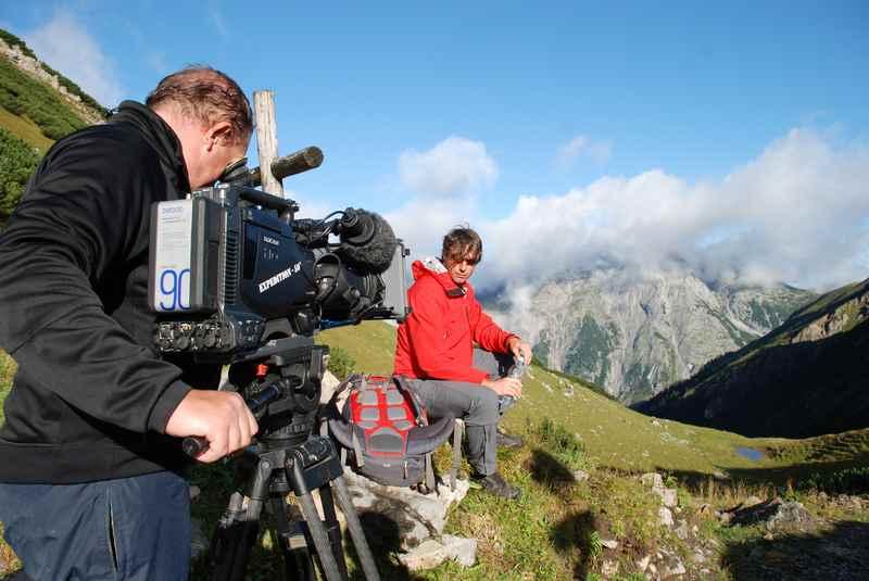 Am nächsten Tag bei schönem Wetter zur Binsalm wandern, Bilder: Silberregion Karwendel