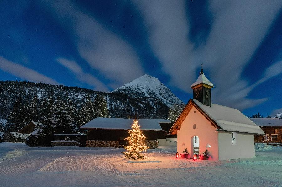 In Leutasch Advent feiern - ganz ursprünglich! Bild: Seefeld Tourismus, Stefan Wolf