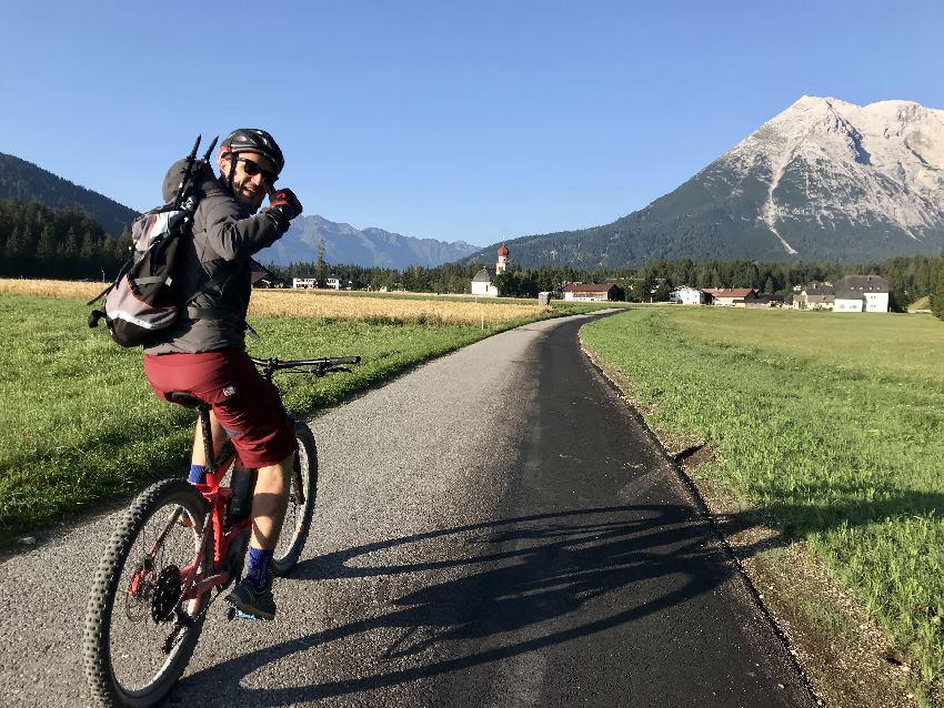 Dein Seefeld Sommer - mit dem E-Bike in der schönen Berglandschaft unterwegs