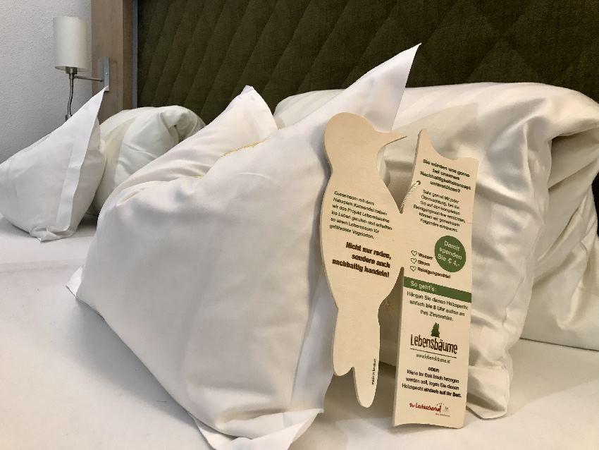 Nachhaltiges Hotel: Jeder Gast kann mitmachen bei der Nachhaltigkeit im Biohotel
