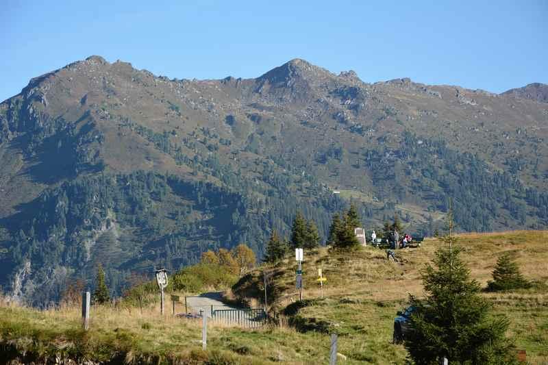 Der Loassattel - oder auch Loas genannt - trennt das Inntal und das Zillertal in Tirol