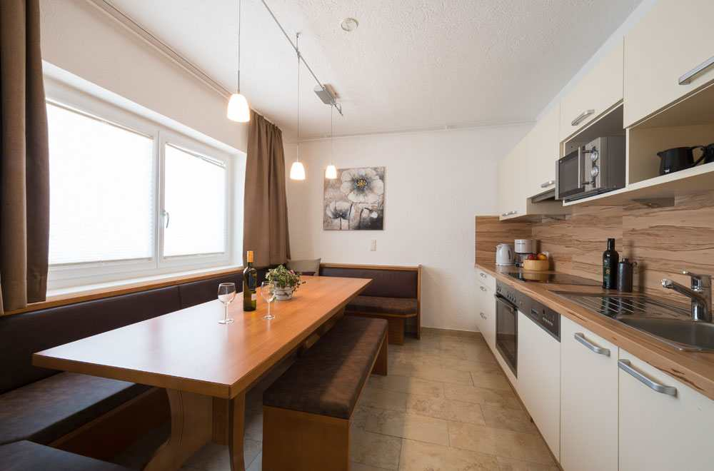 Noch mehr Luxus gibt es in den Küchen der Karwendelblick Appartments, Foto: Anna Rieser